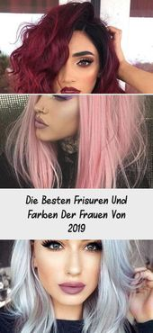 The best hairstyles and colors of women of 2019