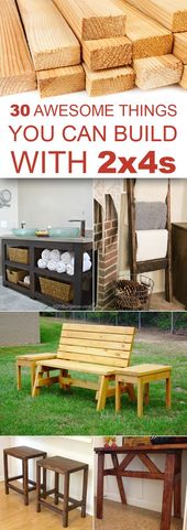 30 Superior Issues You Can Construct With 2x4s