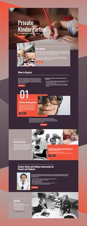 Free Template by Nicepage Builder  – Web Design, UI, and UX Inspiration