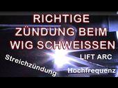 Hochfrequenzzündung beim WIG Schweißen – Manfred Welding