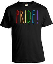 Gay Pride T Shirts Gay Pride Clothing Lesbian Pride Shirts Gay Pride Colors Equality Shirt LGBT T Shirts Pride TShirt Mens Ladies Tee FAT-76