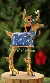 Patience Brewster H8 Christmas Holiday Mini Nutcracker Ornament 08-30840