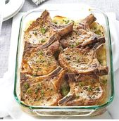 Pork Chop Recipes | Pork Chops with Scalloped Potatoes