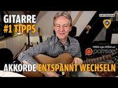 Akkorde entspannt wechseln – Gitarren Hacks #1 Tipps – YouTube – Maik Kirchner