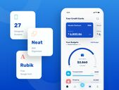 finance app Banky – Finance App UI Kit UI Kits on UI8