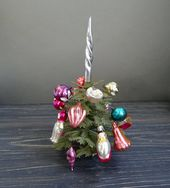 Photo of Vintage Plastik Tier Weihnachtsschmuck Weihnachtsbaum Ornamente Set von 7 Weihnachtsschmuck