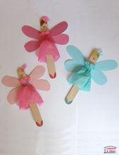Popsicle Stick Fairies