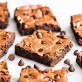 Flourless Brownies (Gluten-free & Paleo-Friendly)