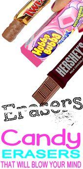 Handwerk mit Süßigkeiten