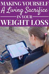 Christian Weight Loss – A Living Sacrifice