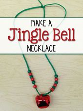 Make a Jingle Bell Necklace