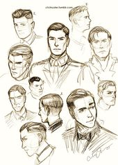 Hairstyles Drawing Male – Hairstyles Trends