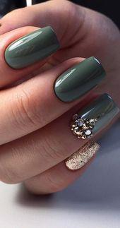 54+ Schöne und trendige Glitzernagel-Designs für dieses Jahr – Seite 43 von 54 – Daily Women Blog   – Nails