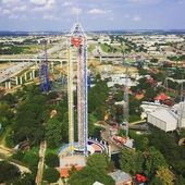 Six Flags Over Texas Tower Of Power At Arlington Texas 5 Little Known Facts About Six Flags Over Texa Six Flags Over Texas Dallas Activities Tower Of Power