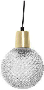 Suspension Sphere Cristal Bloomingville Luminaire Suspension Boule En Verre