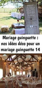 Mariage guinguette : nos idées déco pour un mariage guinguette 14