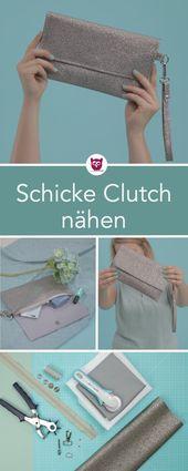 #ClutchClara aus dem #DIYeuleBuch : Nähanleitung …