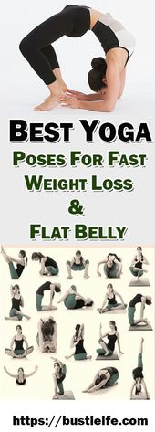 BEST YOGA POSES FOR FAST WEIGHT LOSS & FLAT BELLY – Ultimate guide to health care