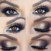 Braune Augen schminken (Makeup Ideas & Tutorials)   – Augen