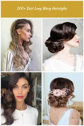 Braids are simply unavoidable! You can opt for these side ones - they seem pretty interesting and fashionable. #wavyhair #hairstyle wedding hairstyles...