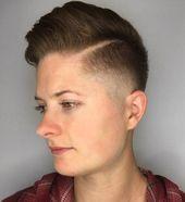 20 kühne androgyne Frisuren für einen neuen Look –  – #Kurzhaarfrisuren –  – #Kurzhaarfrisuren