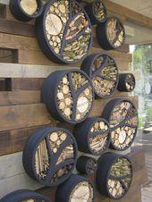 So verschönern Sie Ihr Haus – Outdoor-Wand-Dekor-Ideen