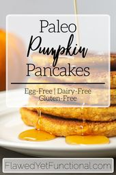 Do you have an egg or gluten allergy? Then you need to try these easy Paleo pump…   – Paleo & Whole30 Recipes