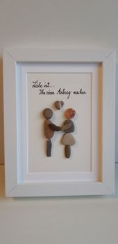 Liebe ist…Steinbild