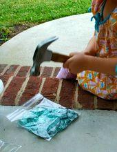 Chalk Paint Tutorial   – Art for kids