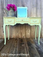 D.D.'s Cottage and Design: French Provincial Vanity –  #cottage #DD39s #design #french #p…