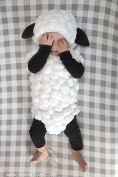 Faire un costume de bébé agneau ….. un simple tutoriel   – halloween-costumes