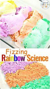 Preschool Science Fizzing Rainbow – Natural Beach Living