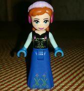 LEGO Disney Princess Frozen ANNA Sammlerminifigur #afflink Wenn Sie auf … klicken   – Lego Ideen