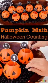 Halloween Pumpkin Counting: Math Time with Kids –