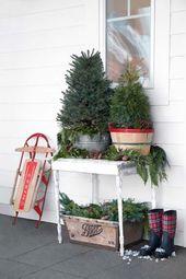 Photo of 40 Wunderbare rustikale Weihnachtsdekoration für Ihren Garten