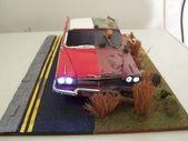 Als eine wörtliche Sache, keine Darstellung der Zeit vergeht Modellautos Kits, Kit Ca … – dioramabau
