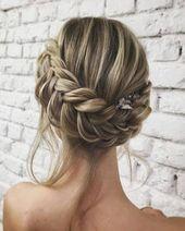 27 wunderschöne Hochzeitsfrisuren für Ihren großen Tag #braid #frisure …   – Beliebt Frisuren