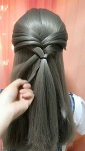This Hairstyle for Long Hair is Just Awesome