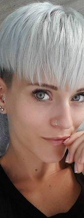 10 trendige kurze Frisuren für Frauen über 40 –  – #Kurzhaarfrisuren –  – #Kur… – #frauen #frisuren #kurze