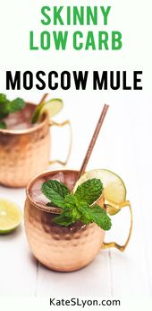 Skinny Low-Carb Moscow Mule
