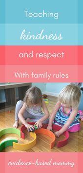 Die einzigen drei Familienregeln, die Sie brauchen – Parenting
