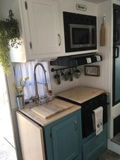 48 Best DIY RV Kitchen Decoration