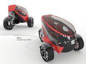 ♥ Seat ANT Idea Automobile for 2030 by Lolita Tinikashvili and Kristina Sazonova