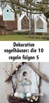#Dekorative #die #Folgen #Regeln #Vogelhäuser Dekorative Vogelhäuser: Die 10 R…