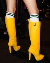 Bildresultat för gumboots high heel | Heeled rain boots