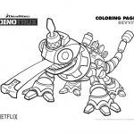 Free Dinotrux Revvit Coloring Page Coloring Pages Printable Coloring Pages Coloring Books