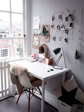 scandinavian home office – Jugendzimmer