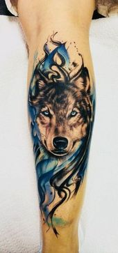 The 60 Best Wolf Tattoos #Best #The #tattoos #Wolf – New Tattoo – #best #the