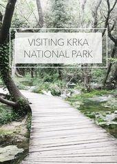 Besuch des Nationalparks Krka, Kroatien.   – Urlaub kroatien