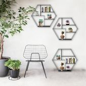Buy Metal Indoor/Outdoor Hanging Shelf at Lifeix Design for only $238.99